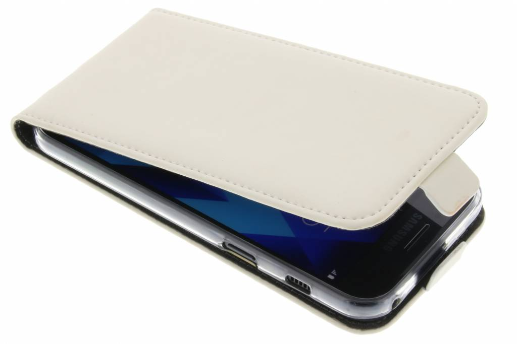 Premium TPU Flipcase voor de Samsung Galaxy A3 (2017) White