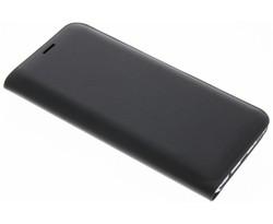 Zwart luxe slim booktype hoes Samsung Galaxy S8
