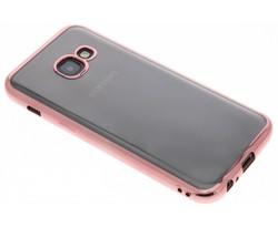 TPU hoesje met metallic rand Samsung Galaxy A3 (2017)