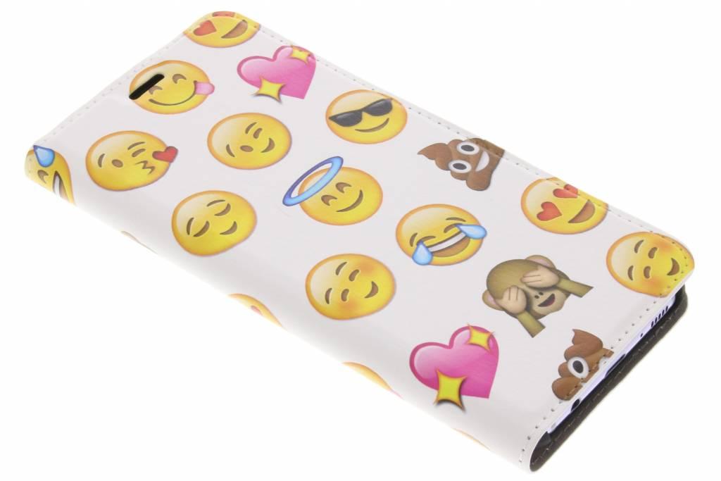 Emoji Design Booklet voor de Samsung Galaxy S8