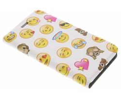 Emoji Design Booklet Huawei Y5 2 / Y6 2 Compact