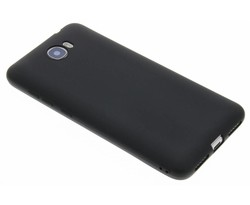 Zwart Color TPU hoesje Huawei Y5 2 / Y6 2 Compact