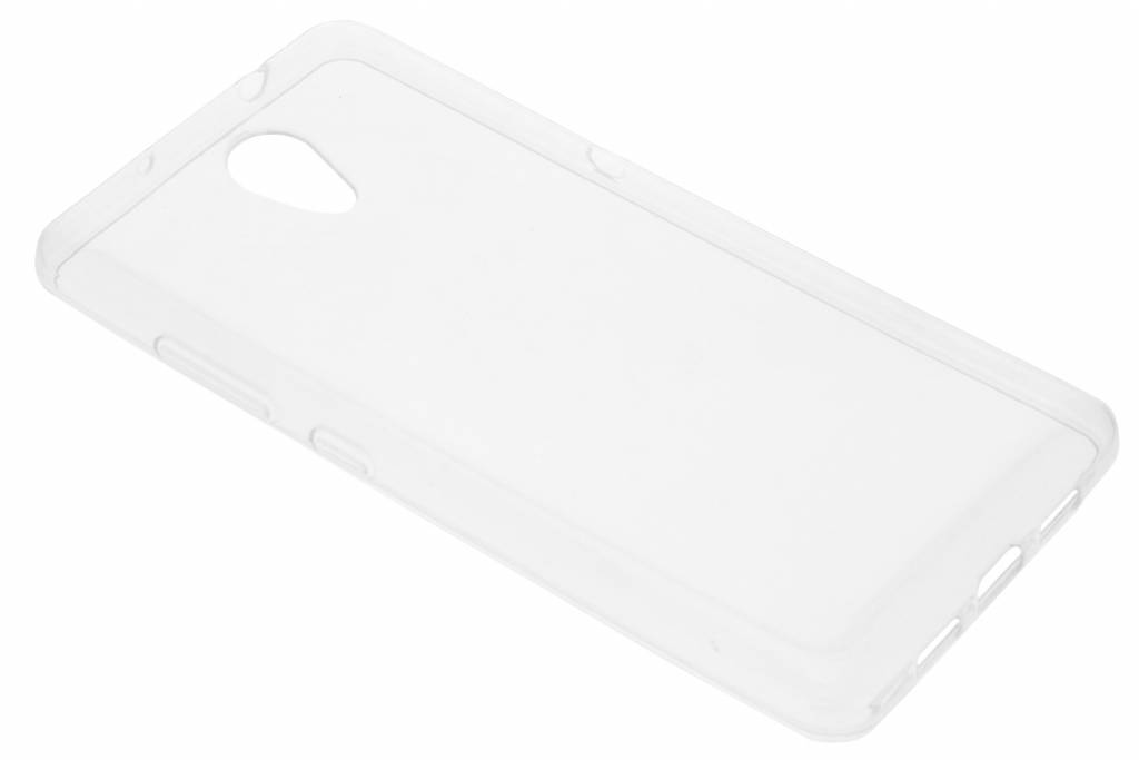 Accezz Transparante TPU Clear Cover voor de Lenovo P2