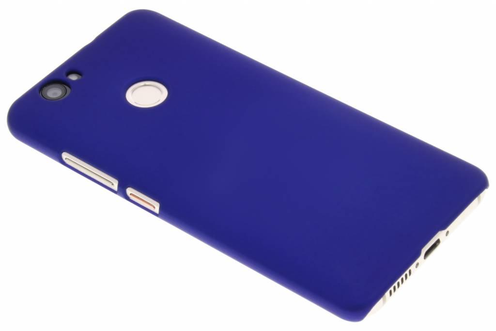 Blauw effen hardcase hoesje voor de Huawei Nova