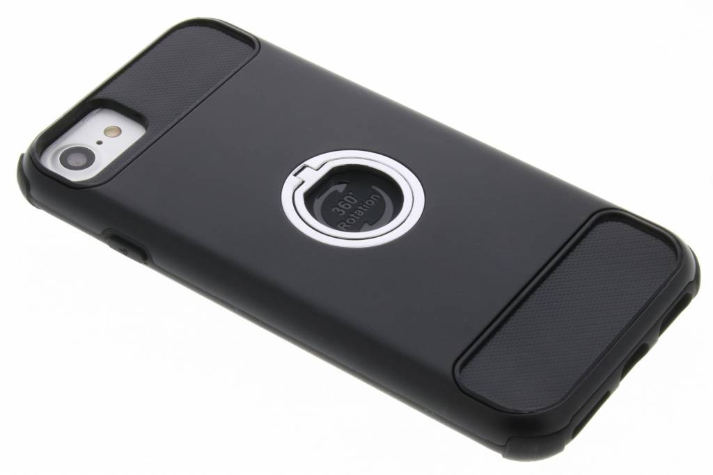 Accezz Zwarte Xtreme Ring Case voor de iPhone 8 / 7 / 6s / 6