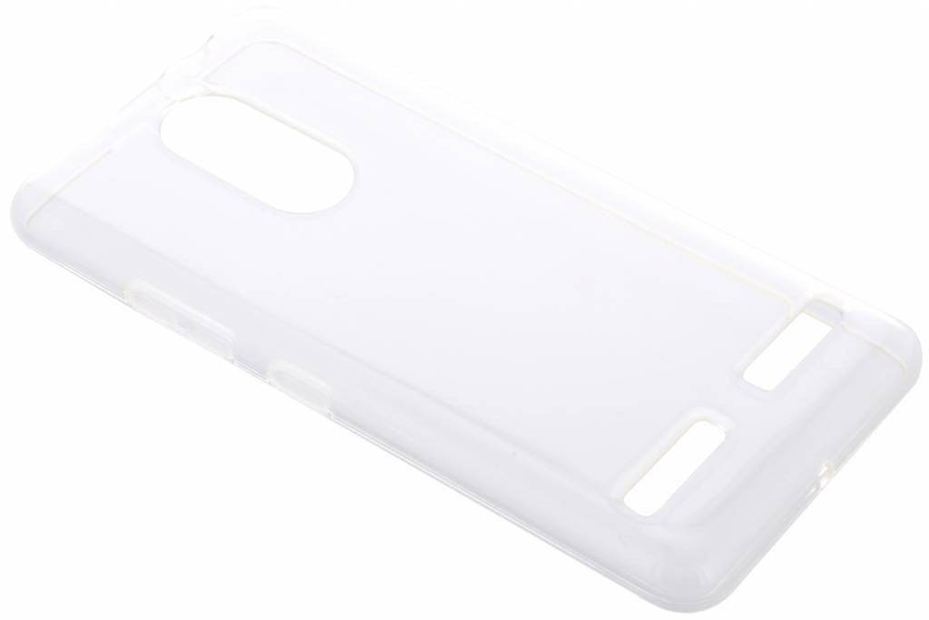 Accezz Transparante TPU Clear Cover voor de Lenovo K6