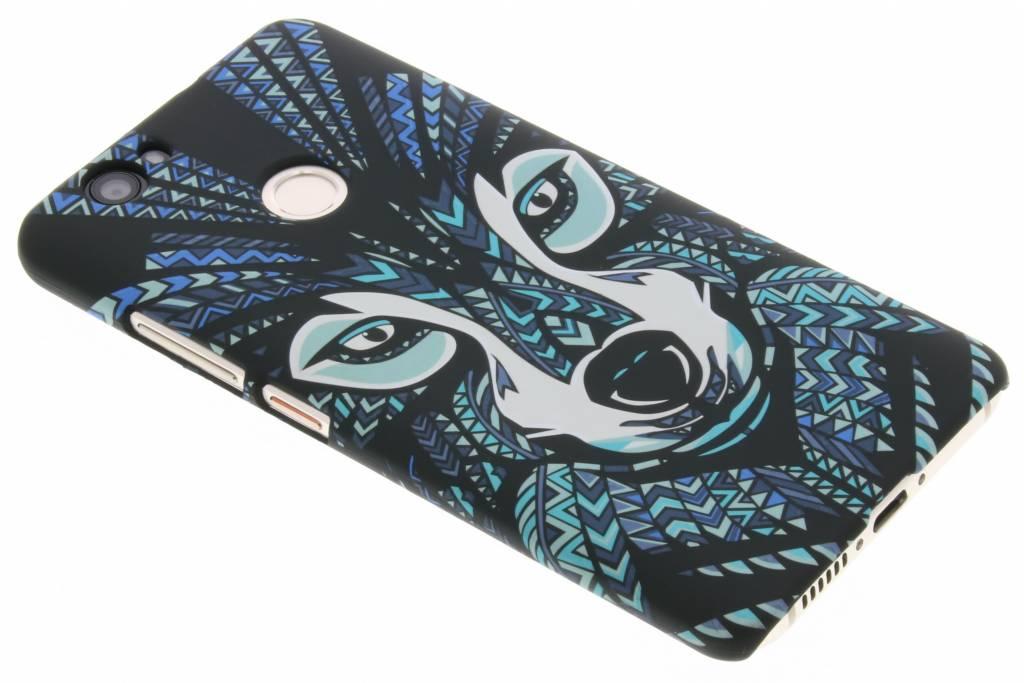Wolf aztec animal design hardcase hoesje voor de Huawei Nova
