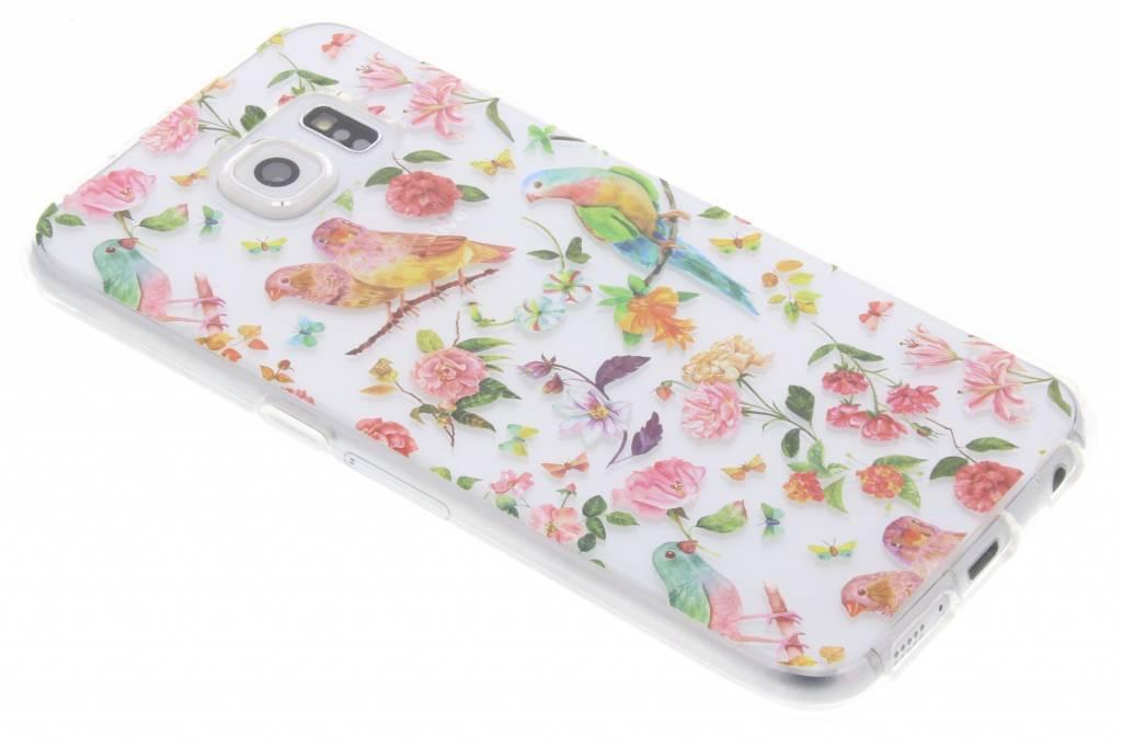 Vogels TPU hoesje voor de Samsung Galaxy S6