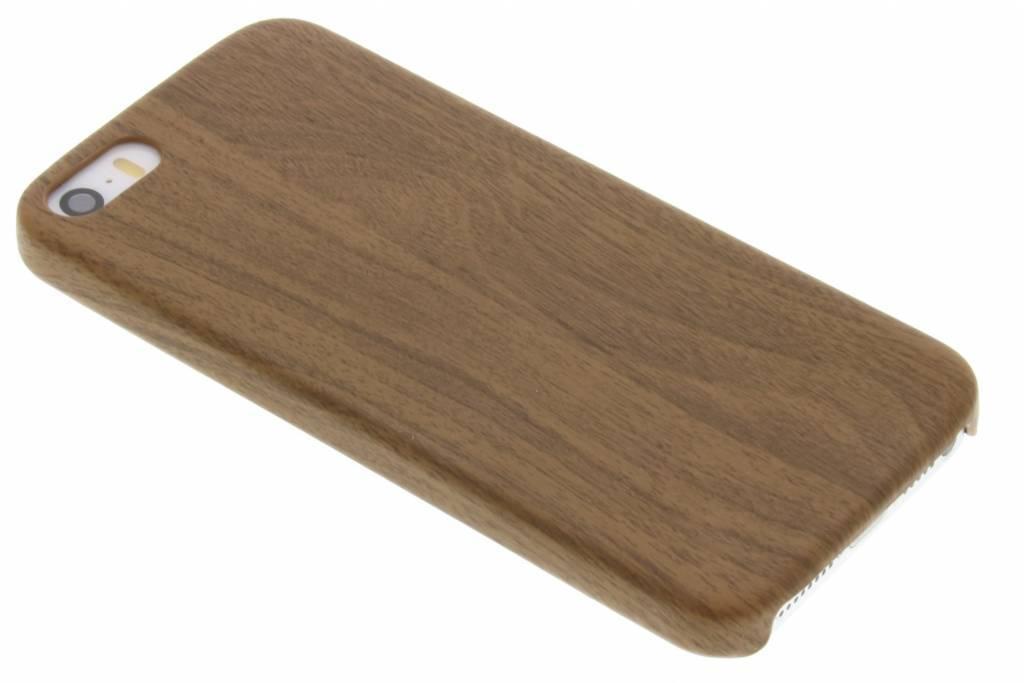 Bruine Houten TPU case voor de iPhone 5 / 5s / SE