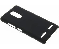 Zwart effen hardcase hoesje Lenovo K6