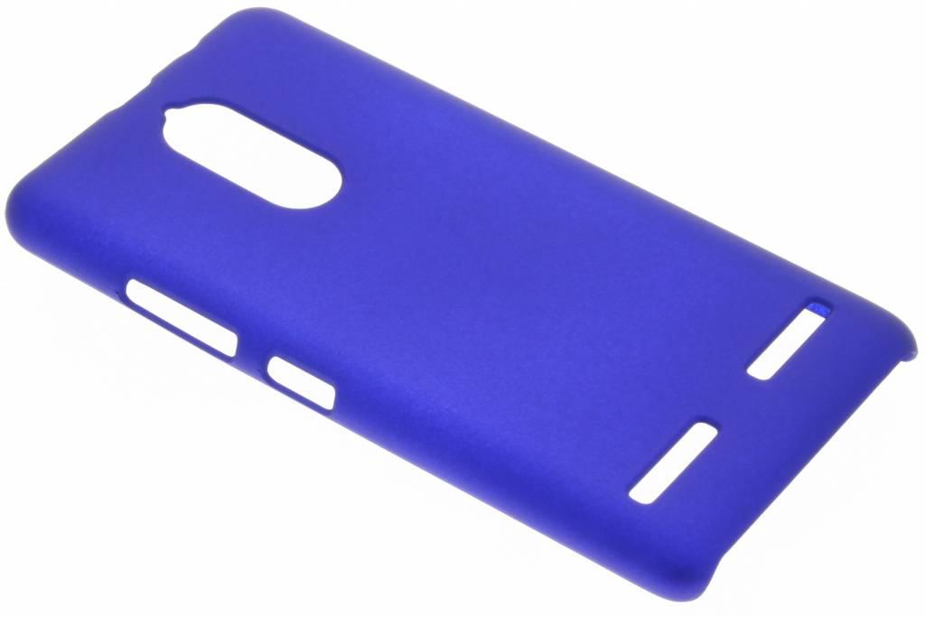 Blauw effen hardcase hoesje voor de Lenovo K6