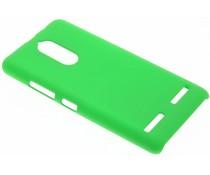 Groen effen hardcase hoesje Lenovo K6