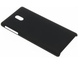 Zwart effen hardcase hoesje Nokia 3
