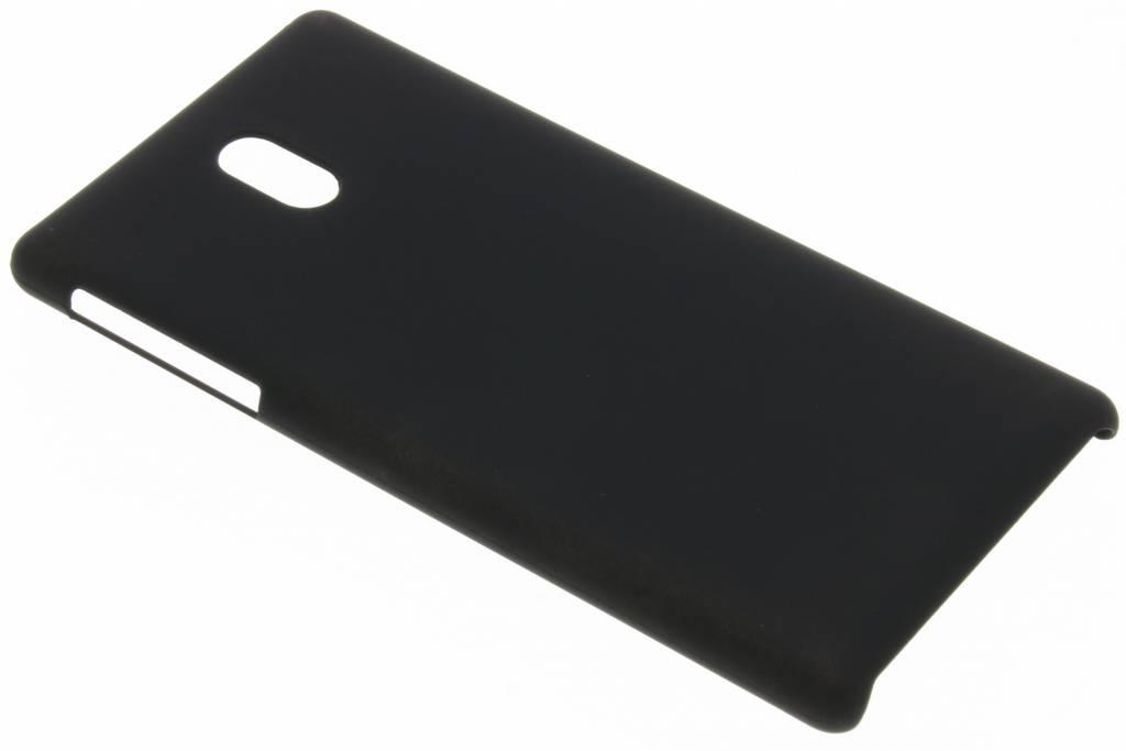 Zwart effen hardcase hoesje voor de Nokia 3
