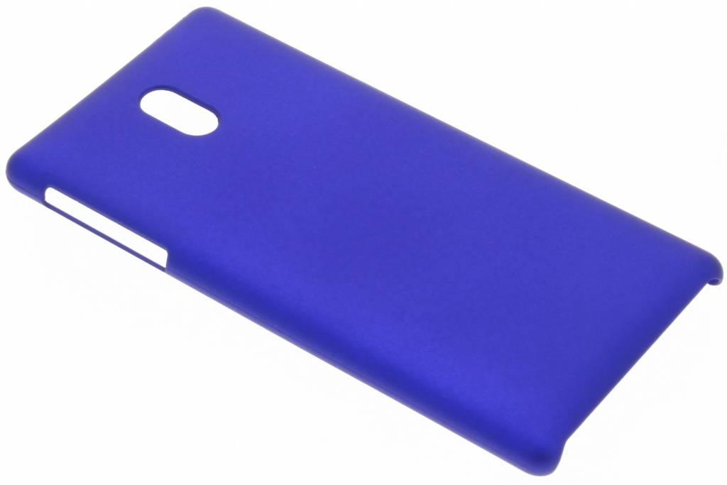 Blauw effen hardcase hoesje voor de Nokia 3