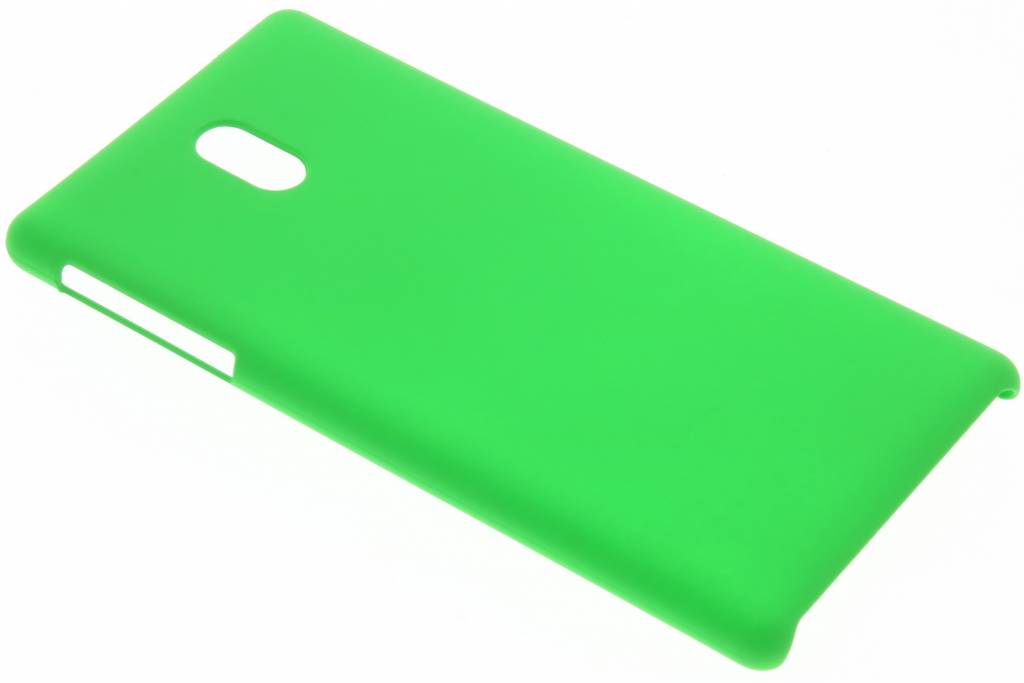 Groen effen hardcase hoesje voor de Nokia 3