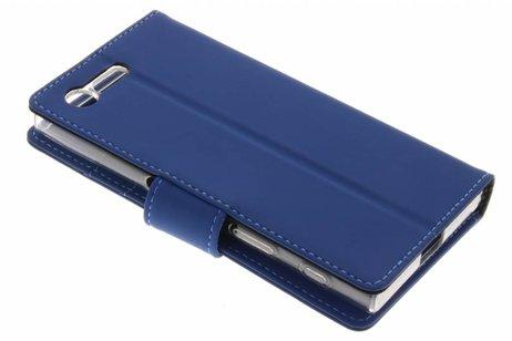 Porte-monnaie Livret Pour Tpu Sony Xperia X Compact - Bleu m0Rl8MeO