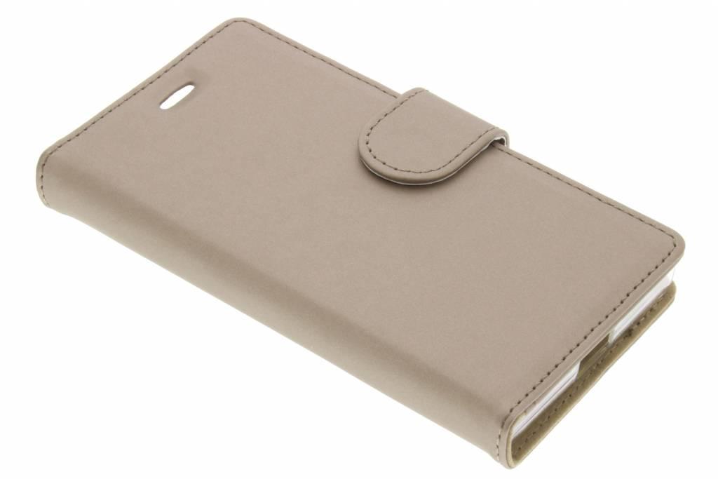 Accezz Wallet TPU Booklet voor de Sony Xperia X Compact - Goud