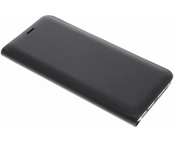 Zwart luxe slim booktype hoes Samsung Galaxy S8 Plus