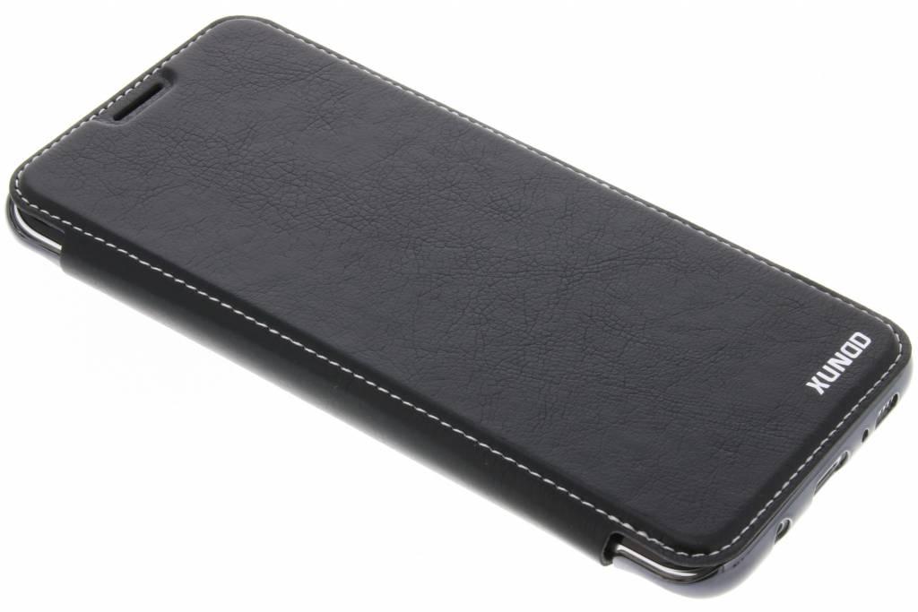 Zwarte crystal slim book case voor de Samsung Galaxy S8 Plus