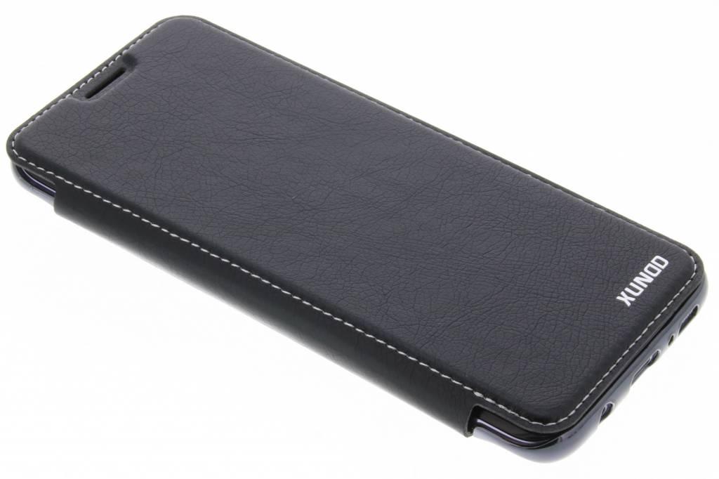 Zwarte Crystal slim book case voor de Samsung Galaxy S8
