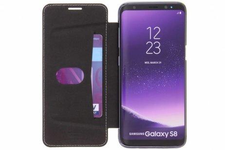 Cristal Noir Cas Puce Livre Pour Samsung Galaxy S8 JZqBhxq