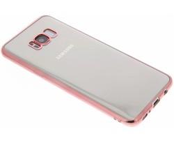 TPU hoesje met metallic rand Samsung Galaxy S8 Plus