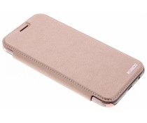 Rosé goud crystal slim book case Samsung Galaxy A5 (2017)