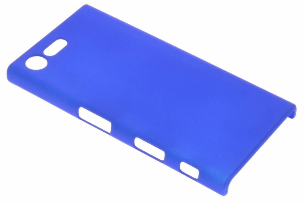 Blauw effen hardcase hoesje voor de Sony Xperia X Compact