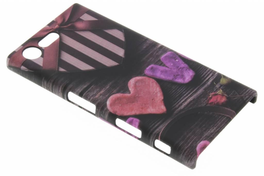 Love design hardcase hoesje voor de Sony Xperia X Compact