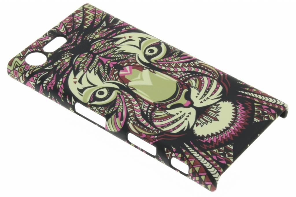 Tijger aztec animal design hardcase hoesje voor de Sony Xperia X Compact