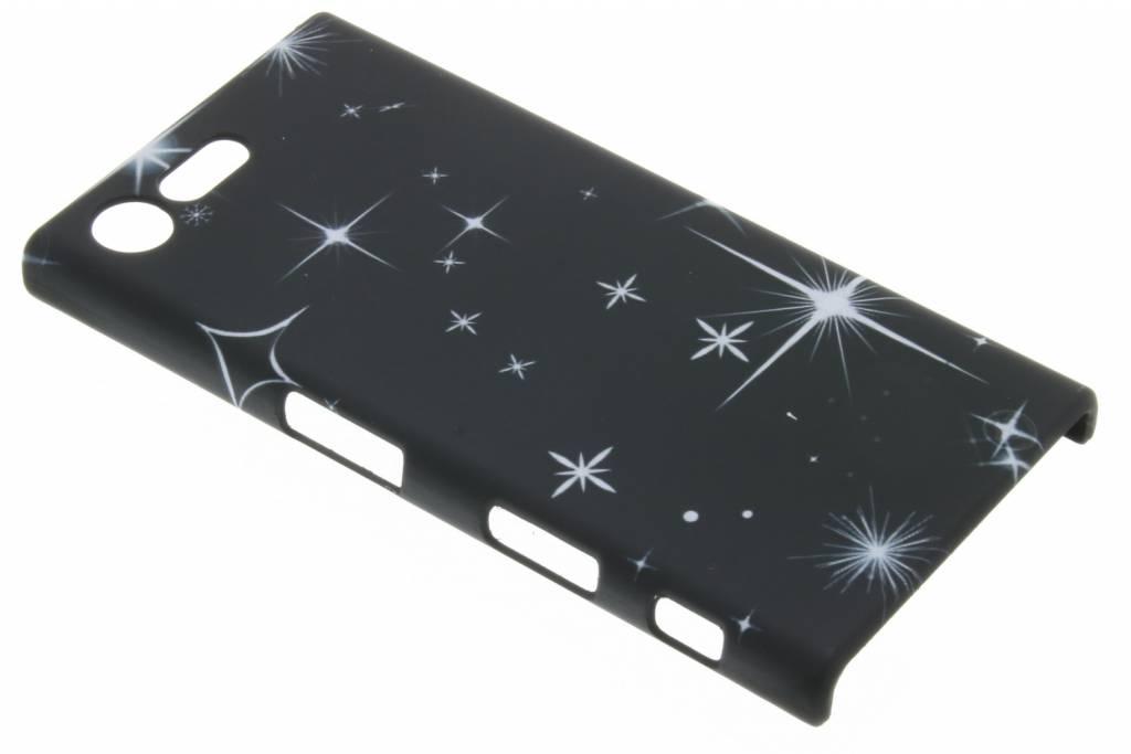 Sterren design hardcase hoesje voor de Sony Xperia X Compact