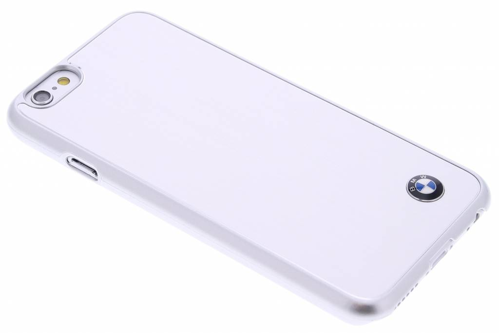 BMW Brushed Aluminium Hard Case iPhone 6 / 6s - Zilver