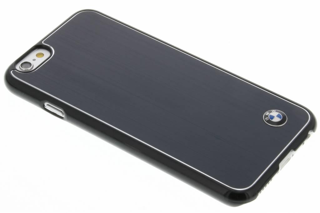BMW Brushed Aluminium Hard Case voor de iPhone 6 / 6s - Black