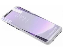Zilver 360° effen protect case Samsung Galaxy S8