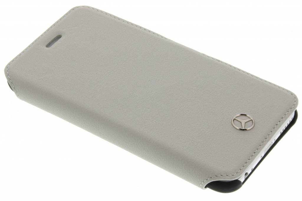 Mercedes-Benz Pure Line Leather Booktype Case voor de iPhone 6 / 6s - Taupe