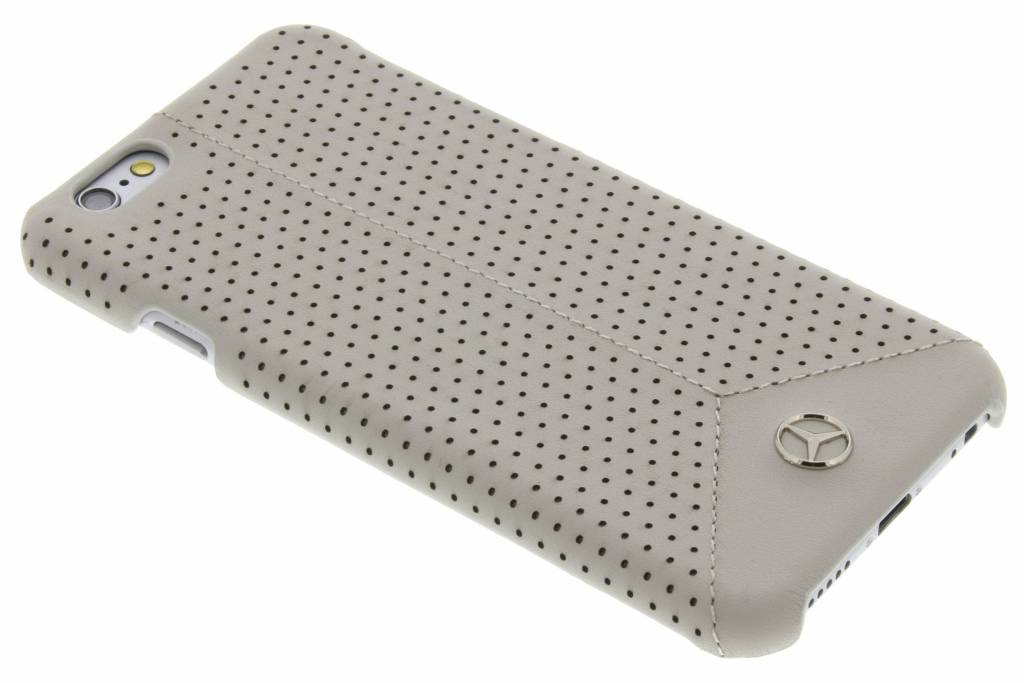 Mercedes-Benz Pure Line Perforated Leather hardcase voor de iPhone 6 / 6s - Taupe