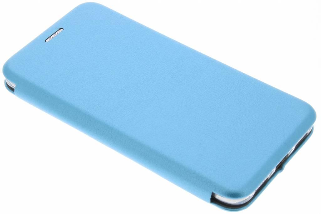 Blauwe Slim Foliocase voor de Huawei P8 Lite (2017)