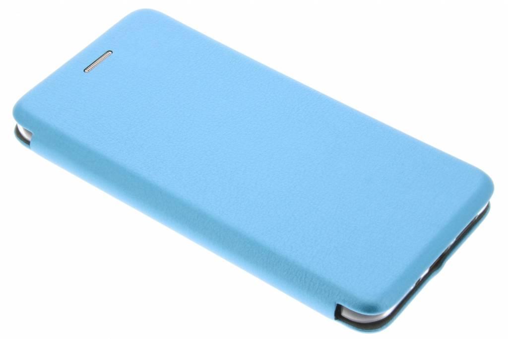 Blauwe Slim Foliocase voor de Huawei P10 Lite