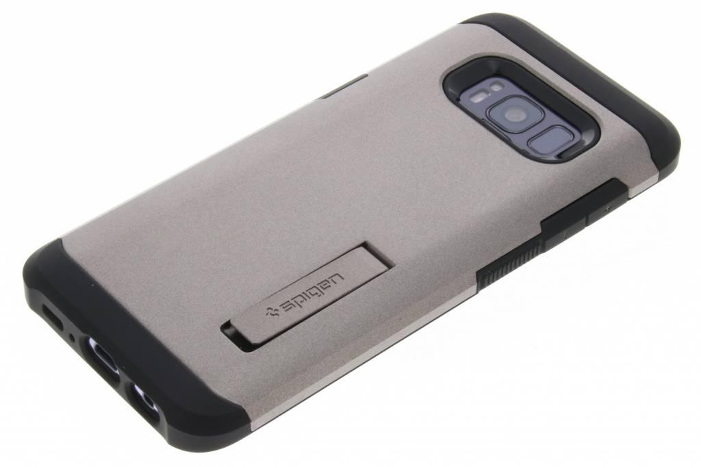 Boîtier Résistant En Armure D'argent Pour Samsung Galaxy S8 eDl433drW