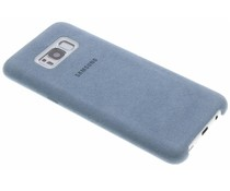 Samsung Mint originele Alcantara Cover Galaxy S8 Plus