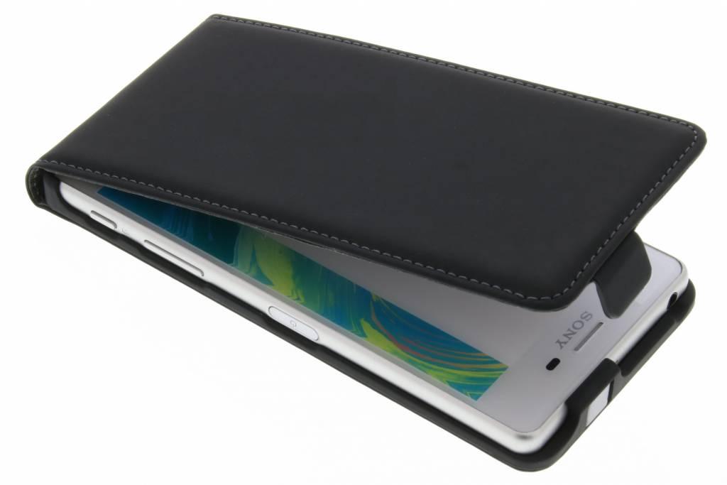 Mobiparts Premium Flipcase voor de Sony Xperia X - Black