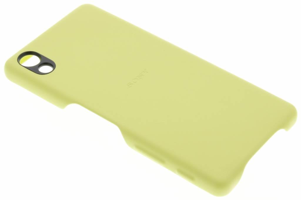 Sony Style Back Cover voor de Xperia X - Geel