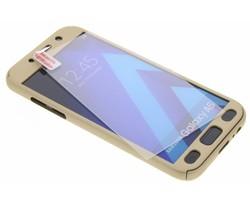 Goud 360° effen protect case Samsung Galaxy A5 (2017)