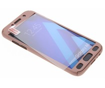 Roze 360° effen protect case Samsung Galaxy A5 (2017)