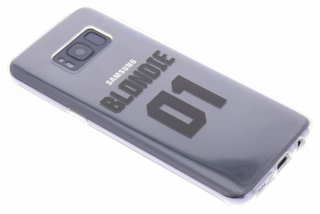 BFF Blondie Love TPU hoesje voor de Samsung Galaxy S8
