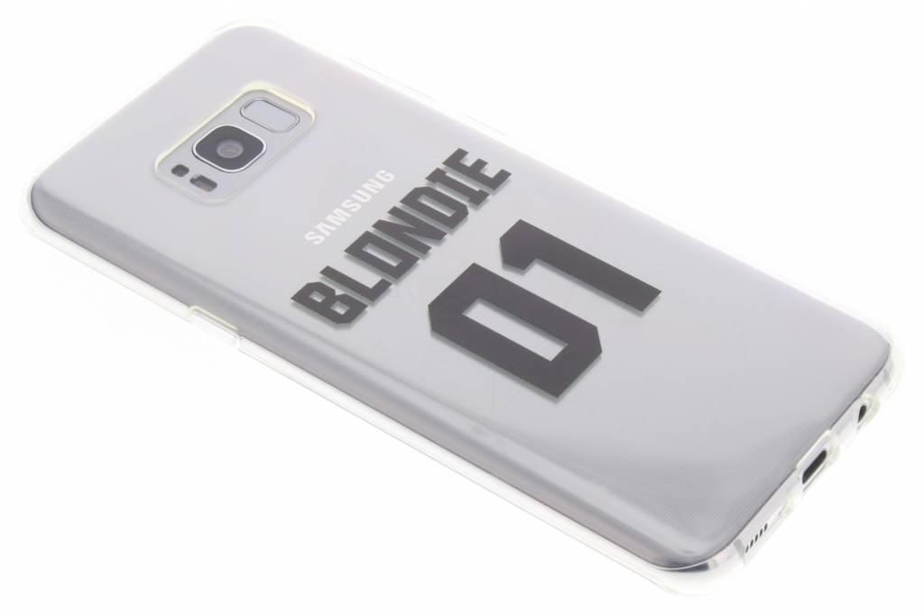 BFF Blondie Love TPU hoesje voor de Samsung Galaxy S8 Plus
