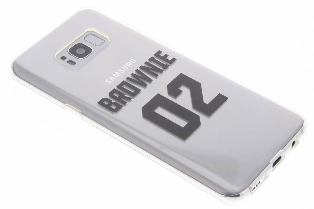 BFF Brownie Love TPU hoesje voor de Samsung Galaxy S8 Plus