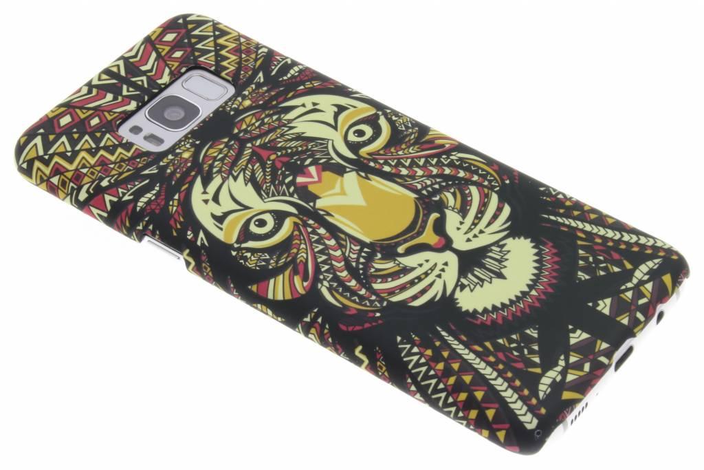 Tijger aztec animal design hardcase hoesje voor de Samsung Galaxy S8 Plus
