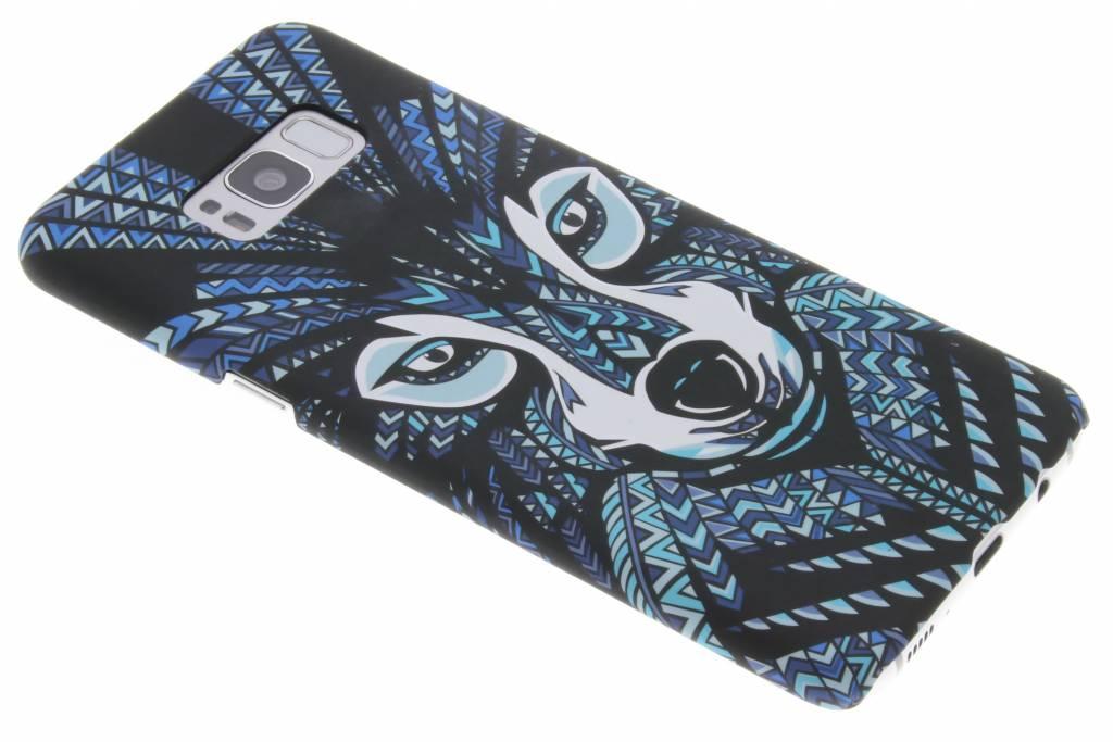 Wolf aztec animal design hardcase hoesje voor de Samsung Galaxy S8 Plus